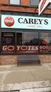 Carey's Bar in Vermillion, SD, Mile 1499