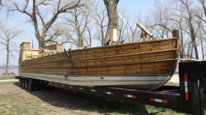 Replica of Lewis & Clark's Riverboat, Onawa, IA, Mile 1420
