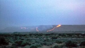 Wildfire, Glenn's Ferry, ID, Mile 3029