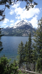 View From Our Picnic Table, Grand Tetons, Mile 2759
