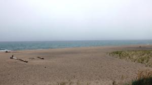 Grand Marais Beach, August 7, Cold