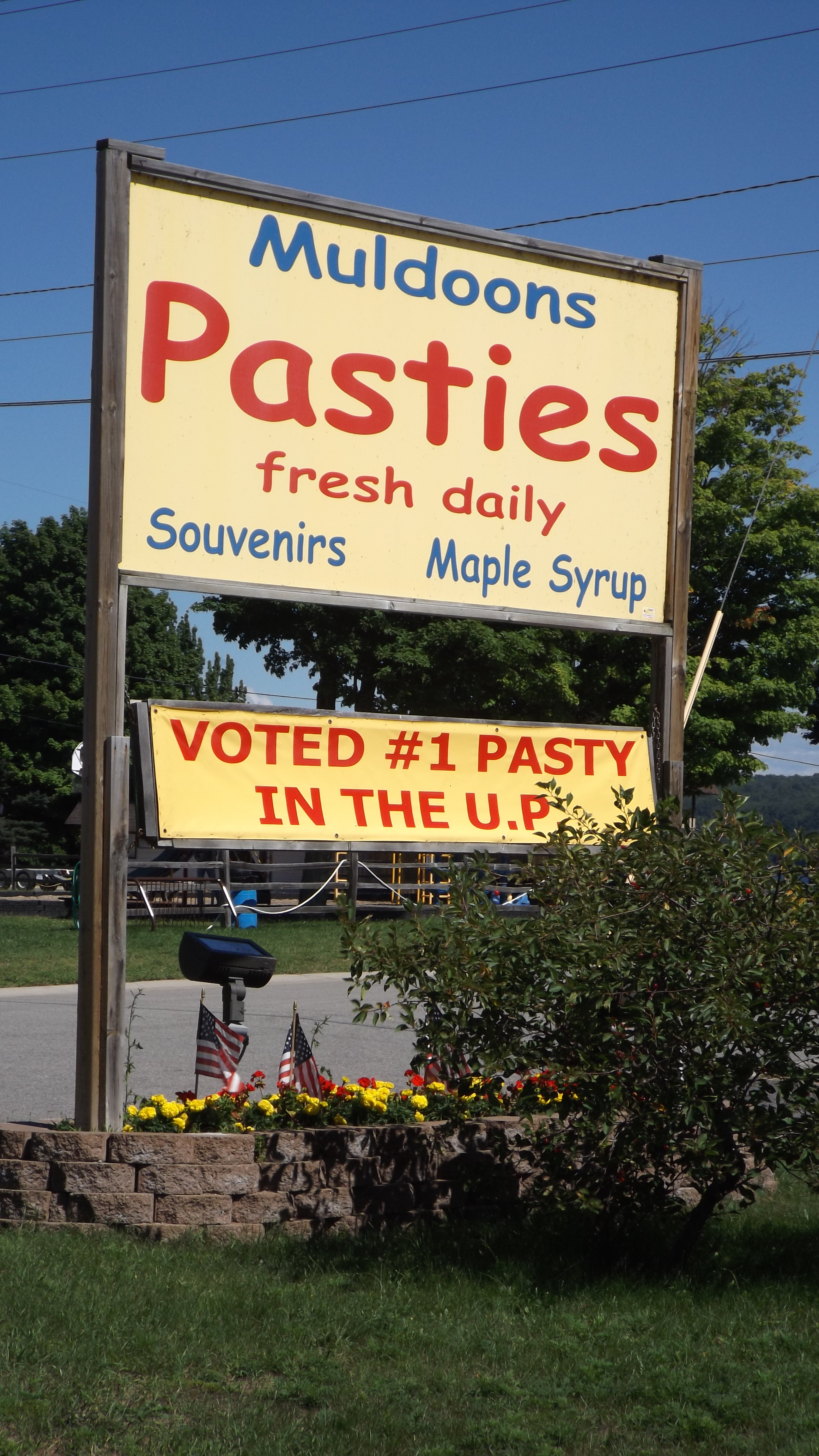 Christmas in August, With Edible Pasties – Life on the Blue Highways