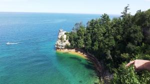 Miners Castle, Painted Rocks National Seashore, Mile 5811