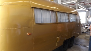 Wally's Gold Airstream