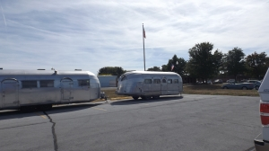 Spartan Helmeted 30's Airstream on Right