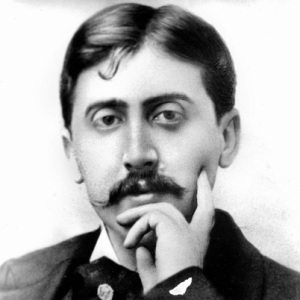 Marcel Proust, Another Writer with a Hands on the Face Pose