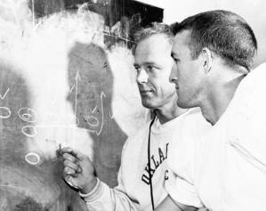 Jim with Bud Wilkinson
