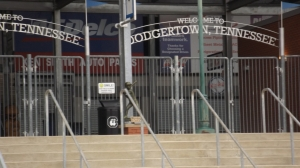 Entryway to AT&T Field