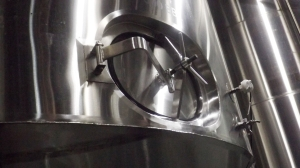 An Ageing Vat:  It Holds 99,0000 Bottles of Beer