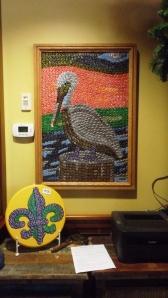 State Bird and Fleur des Lis in Abita Bottle Caps