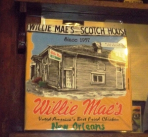 Willie Mae's:  an Artist's Conception