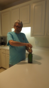Walt Opening the Cuvee