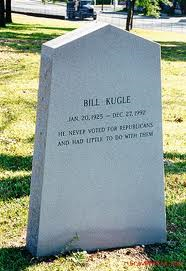 Back of Bill Kugle's Stone
