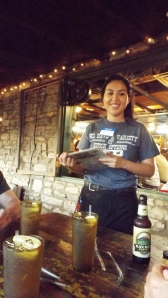 Chelsey, Our Server