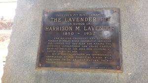Lavender Brass Monument