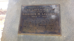 Lavender Brass Monument