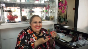 Optometrista Dra. Ana Bertha Castro Rios.