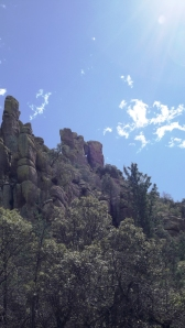 Rocks and Clouds; Wish You Could See the Lichens on Those Rocks!