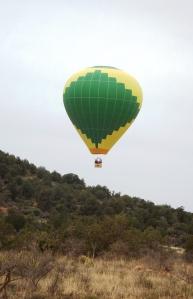 Dawn with Balloon