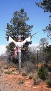 Sedona Scarecrow on the Red Rock Loop