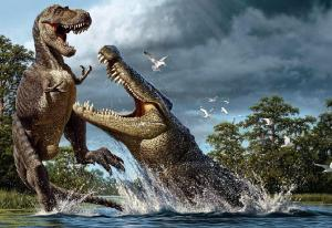 Deinosuchus and Albertosaurus: But One Dinosaur Was More Deadly