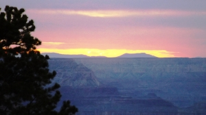 A Limp Sunset from Yaki Point