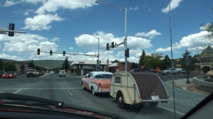 Durango DeSoto and Wooden Camper