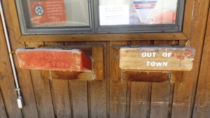 Creede Post Office Mail Drop