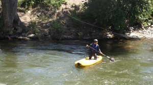 Surfin' the River in Salida