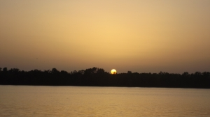 Sunset Over Bailey Point on Barren River Lake