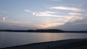 Night Falls on the Barren River Lake