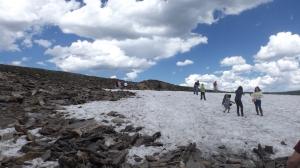 RMNP Snowfield on July 24