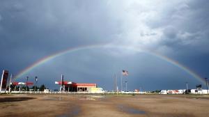 A Monsoon Rainbow in Colorado