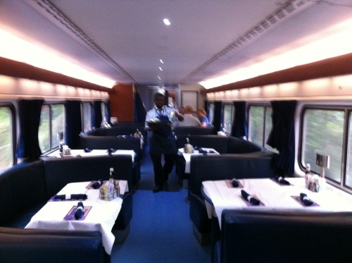 The Dining Car Serves A Creole Menu