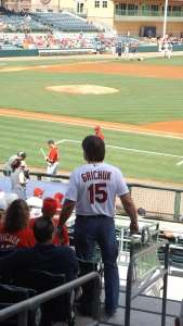 Randal Grichuk's Dad and Mom Were Right There With Us in the Cheap Seats ... Is Randal Going to Be Sent Down?