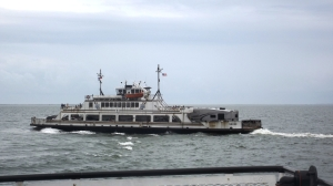 The Neuse Ferry Underway