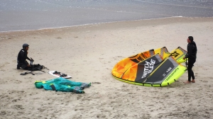 Some Kite Boarding Equipment
