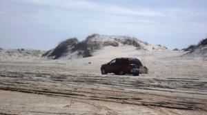 Ruts on the Beach