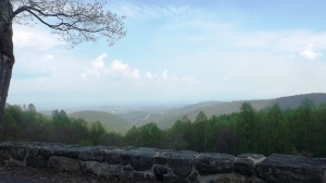 CCC Wall and a Shenandoah View