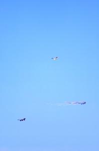 Three Kites on One String