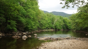 Stuart Rec's Swimming Hole on Shavers Fork of the Cheat River