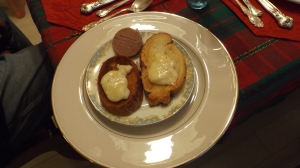 The Pate with Brie