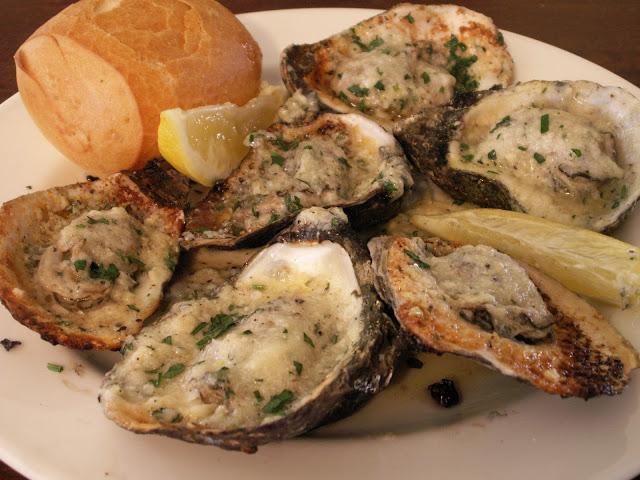 Dragos Chargrilled Oysters