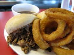 Half a French Dip and Some Rings