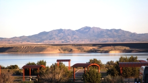 Cochita Lake from Our Front Door