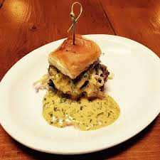 Lamb Slider with Chimmichuri Sauce