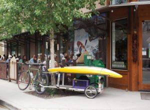 Sidewalk Cafe: The Eddyline Pub