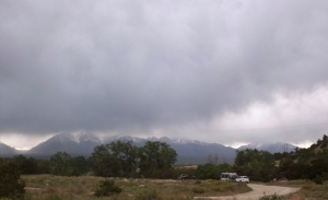 Storm Moving into Salida Camp
