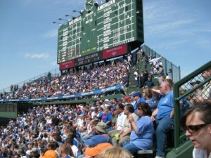 Bleacher Bums at Wrigley