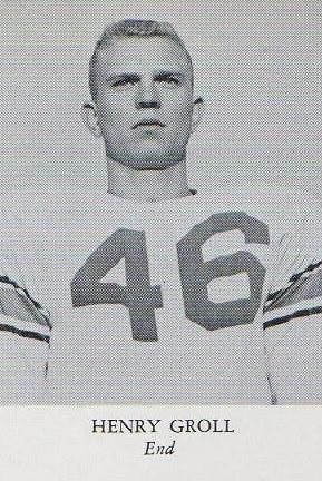 Henry Groll, End NC Rebels 1956